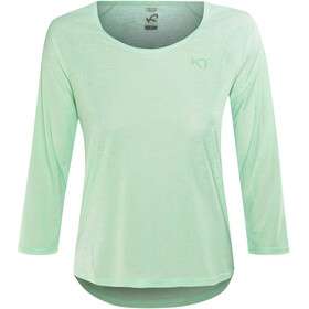 Kari Traa Pia LS - T-shirt manches longues Femme - turquoise
